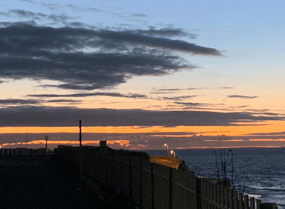 Sunset in Margate UK