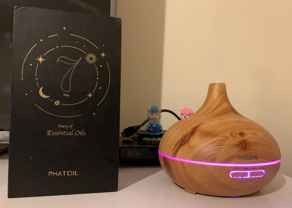 Victsing diffuser and oils