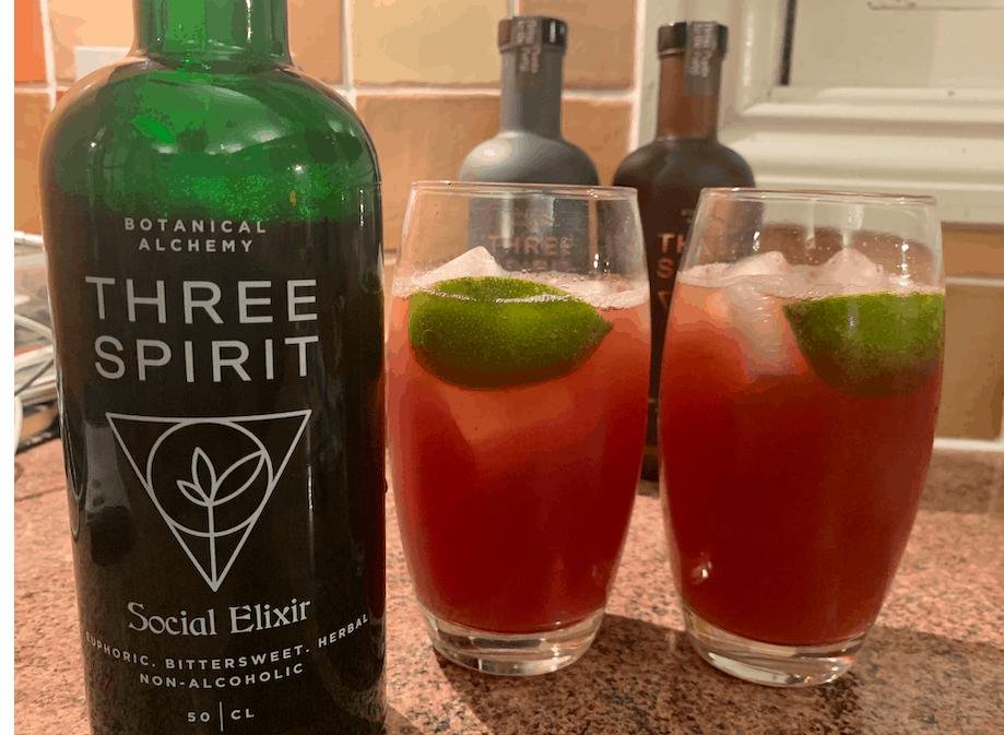 Three Spirit Alcohol Free Spirits