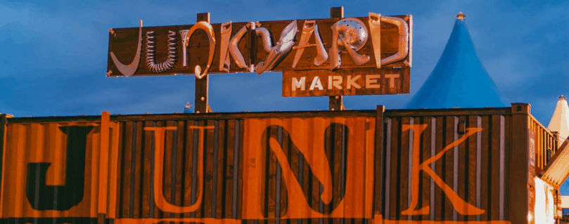 Junkyard Market Norwich sign