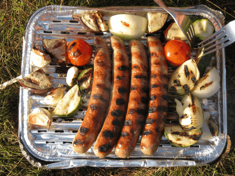 What can you cook on a disposable bbq