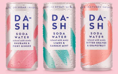 Dash Soda Water Range
