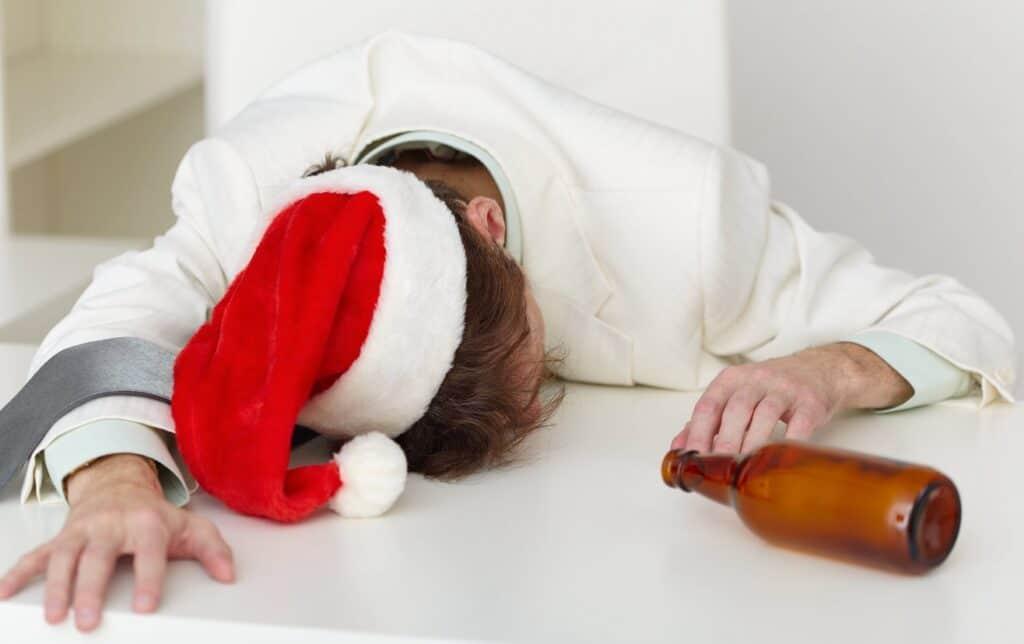 Drunk at Christmas