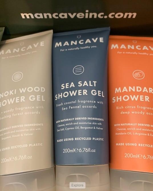 ManCave shower gels